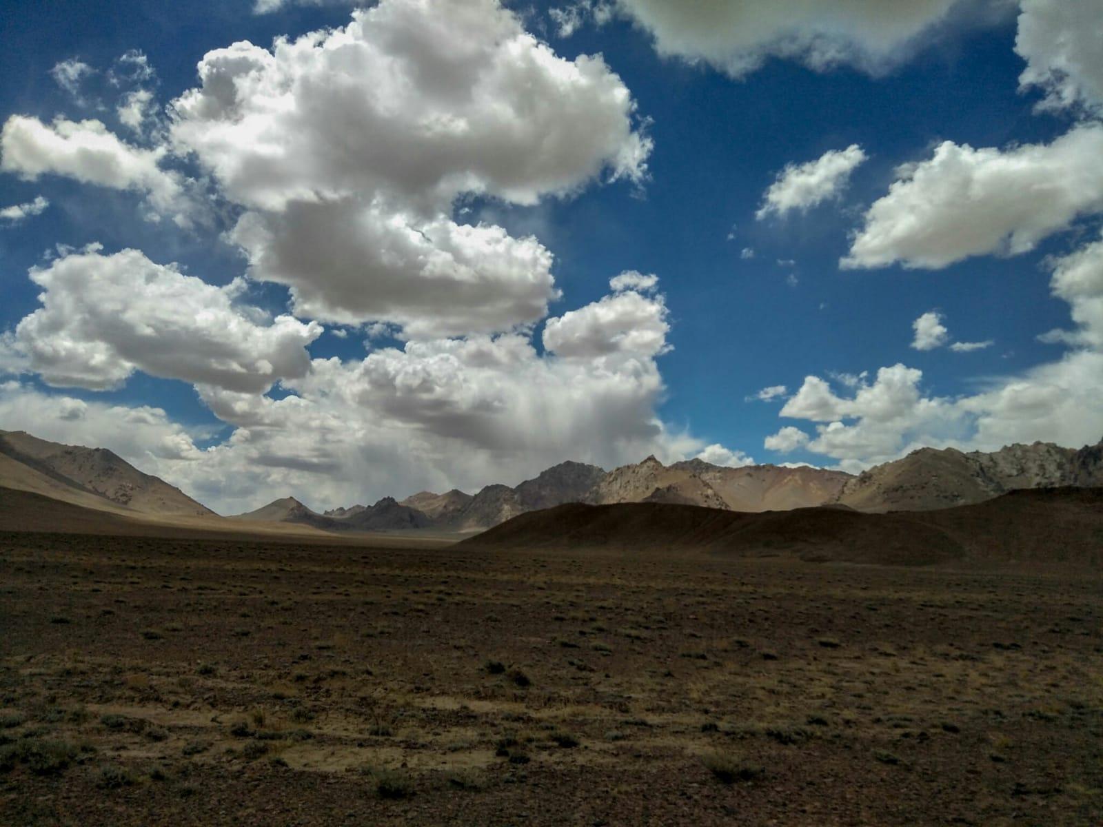 Landschap tadzjikistan