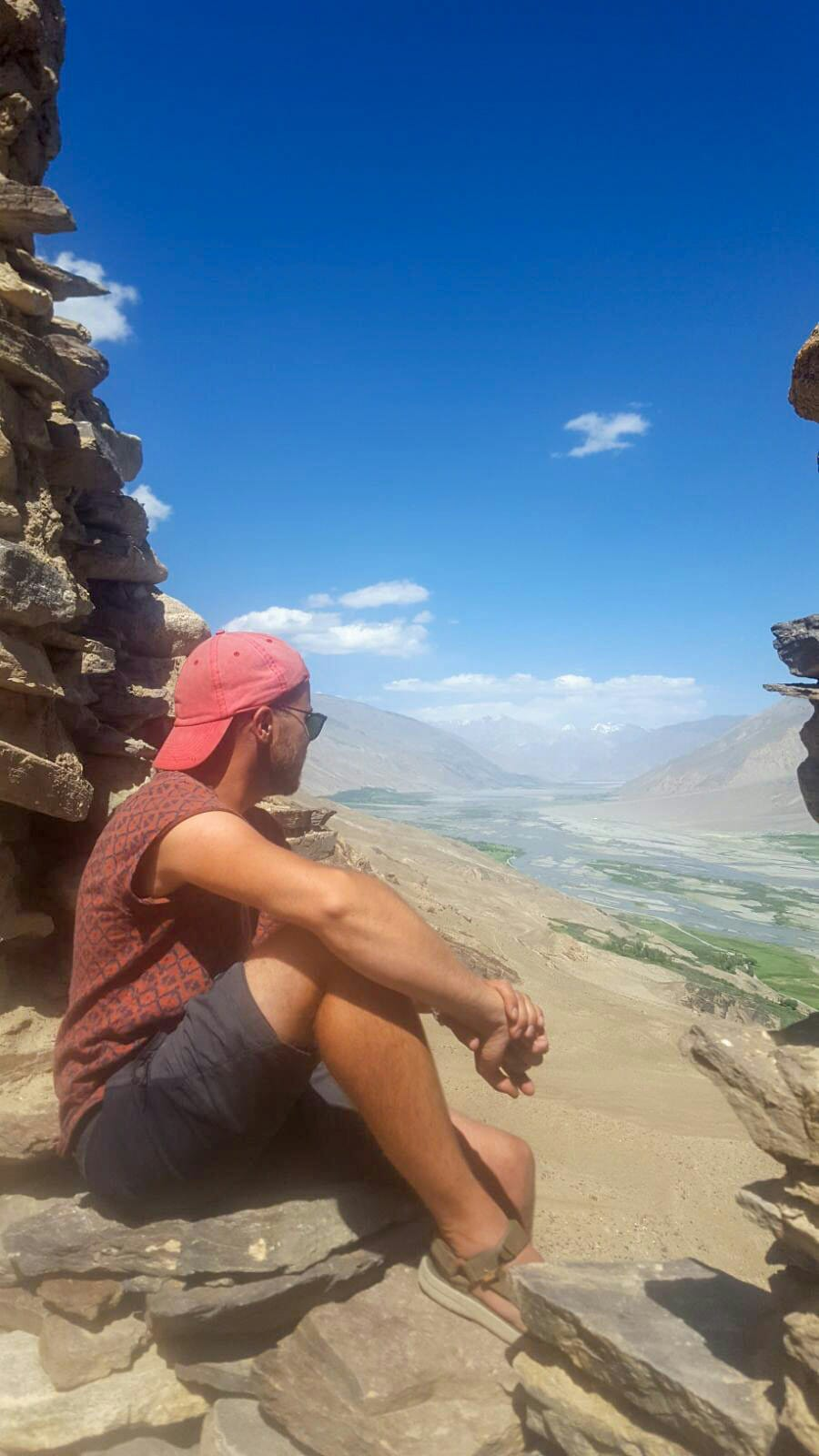 Yamchun Fortress Tadzjikistan