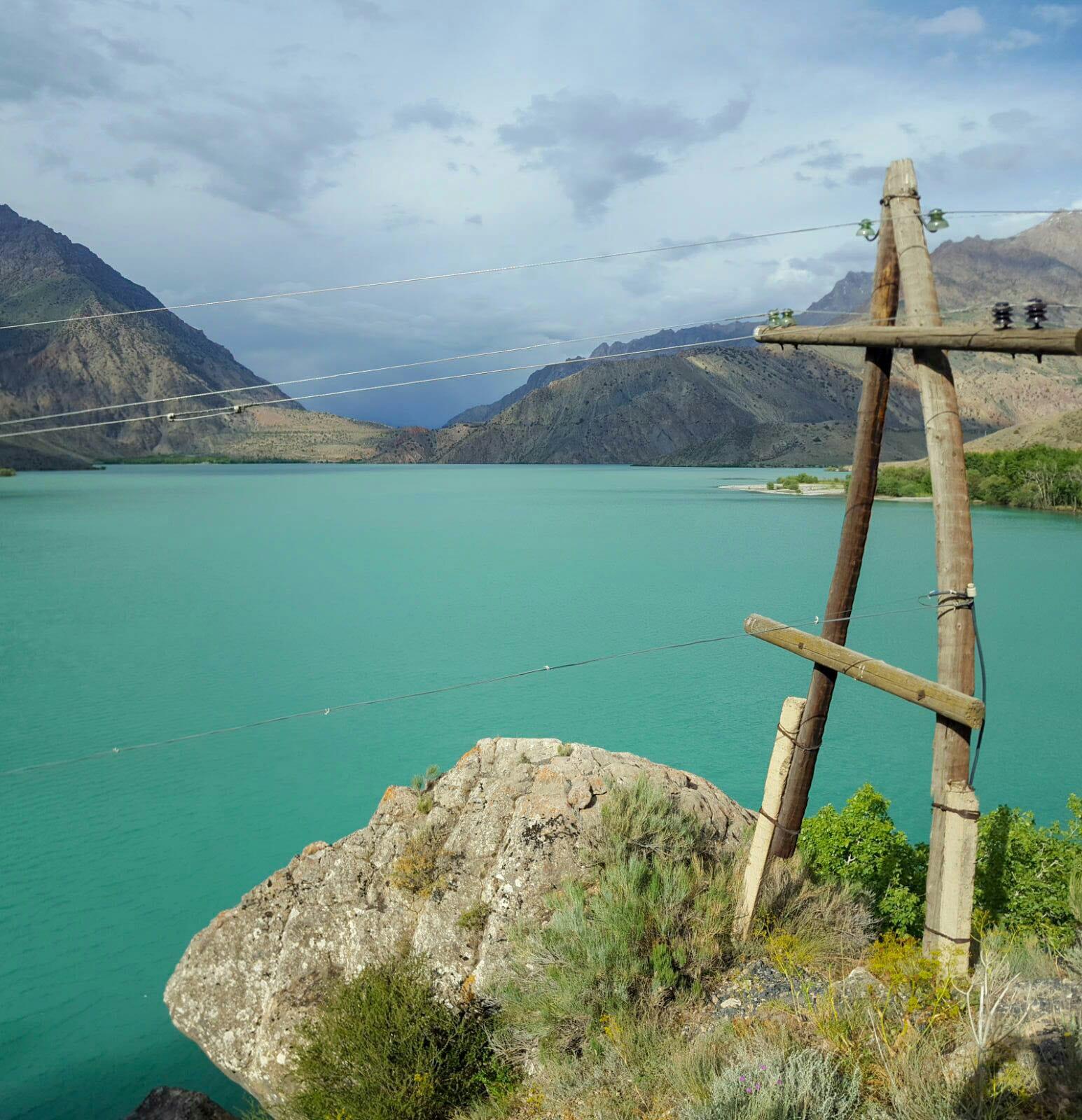 meer fann mountains Tadzjikistan