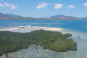 Luli Island in honda bay