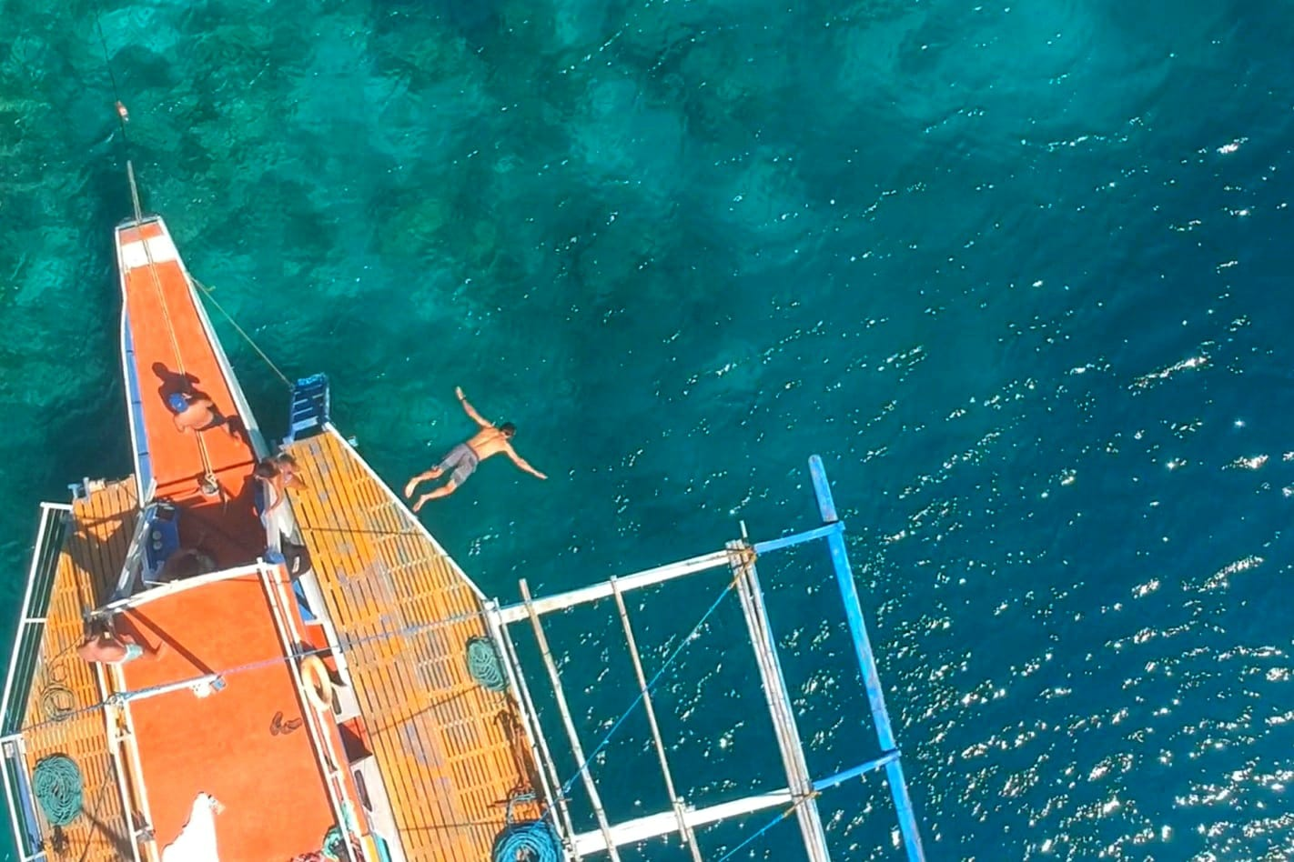 Duiken van Buhay Isla boot