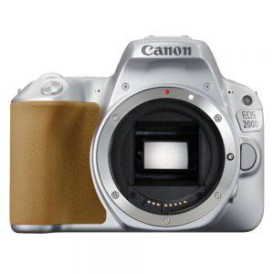 Canon EOS 200D body zilver