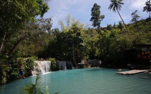 Cambugahay watervallen siquijor