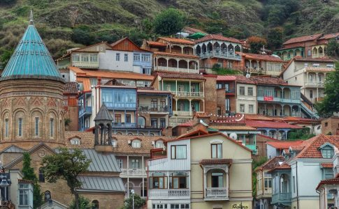 oude centrum Tbilisi