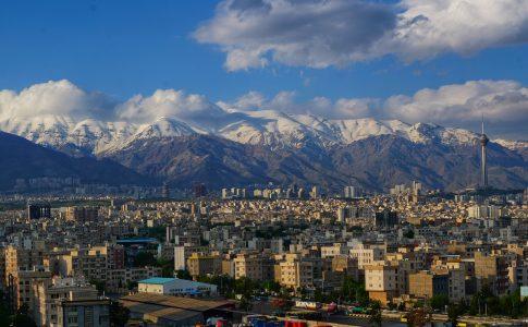 Teheran, hoofdstad van Iran