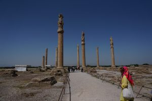 zuilen van Persepolis