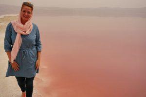 Roze zoutmeer, Maharloo Shiraz Iran