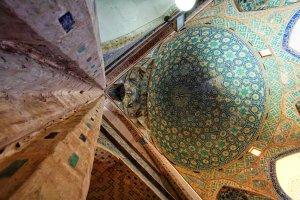 Yazd moskee koepel