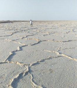 zoutvlakte maranjab