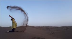 spelen in maranjab woestijn