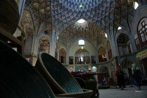 Architectuur bazaar kashan